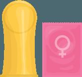 Female condom image
